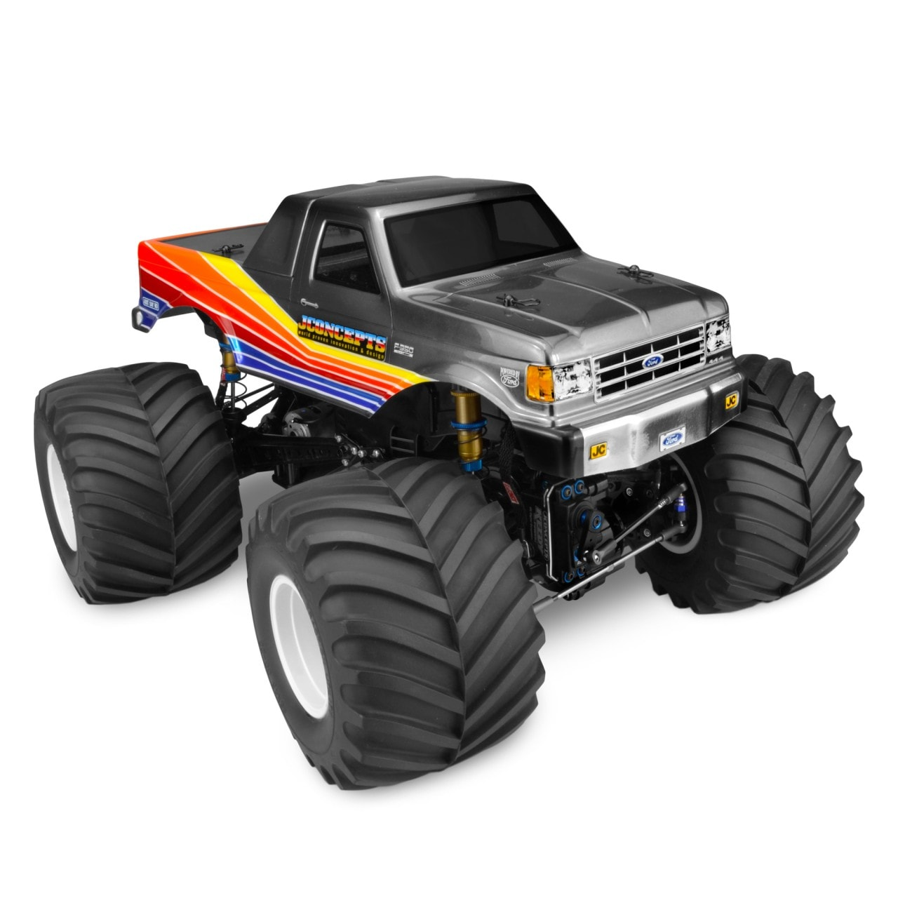 JConcepts Goes Back in Time with Their 1989 Ford F-250 Body