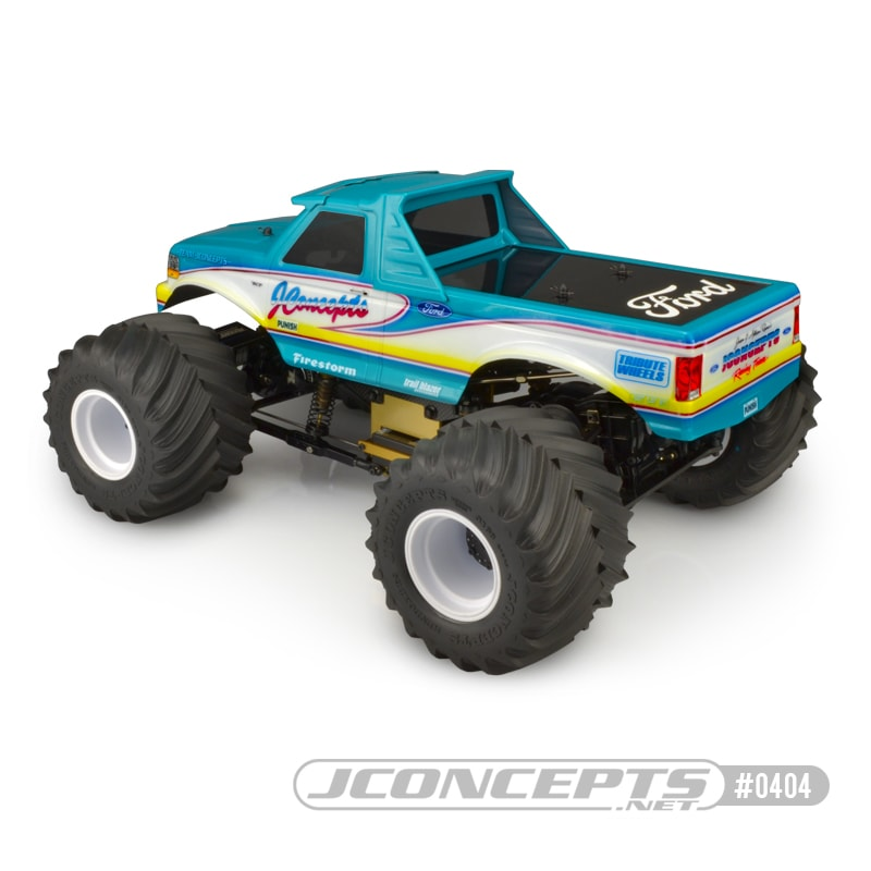 JConcepts 1993 Ford F-250 Monster Truck Body - Rear