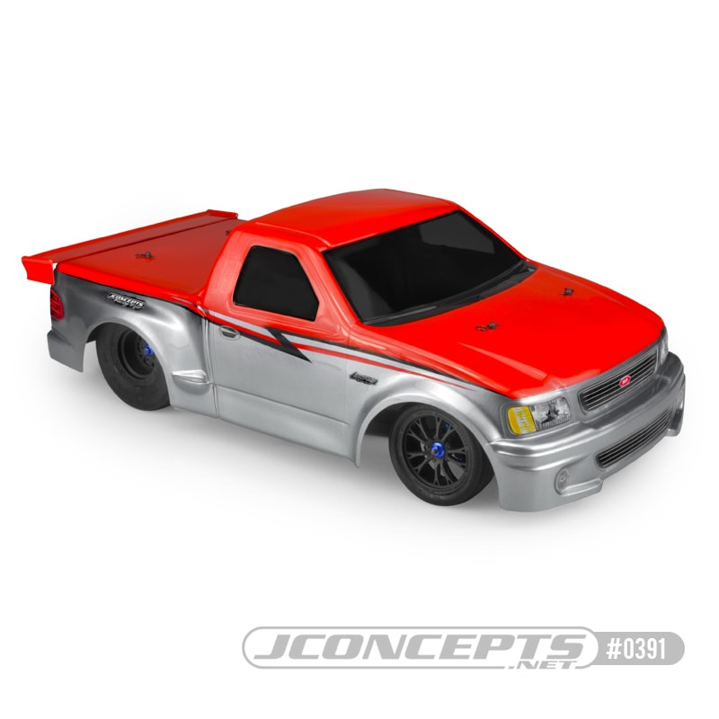 Scorch the Dragstrip with JConcepts 199 Ford SVT F-150 Lightning Body