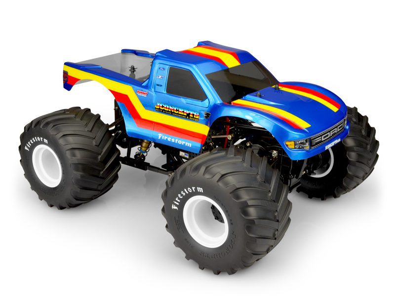 Make a Monster Masher with JConcepts 2010 Ford F-150 Raptor MT Body