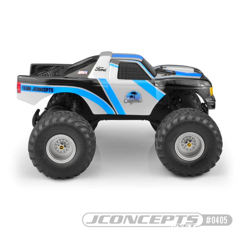 JConcepts California Traxxas Stampede Body - Side