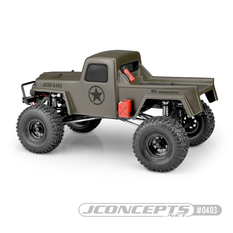 JConcepts Creep RC Crawler Body - Side Rear