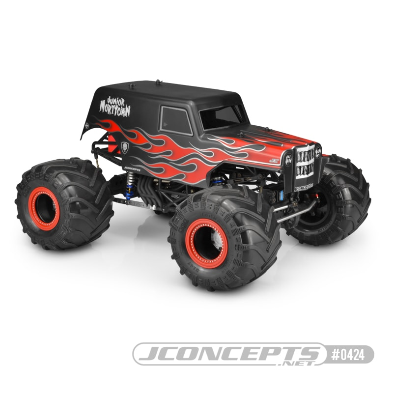 JConcepts Junior Mortician R/C Monster Truck Body