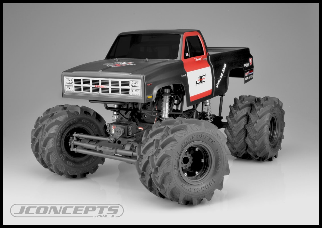 "JConcepts ""Krimson Dually"" 2.6″ R/C Truck Wheels"