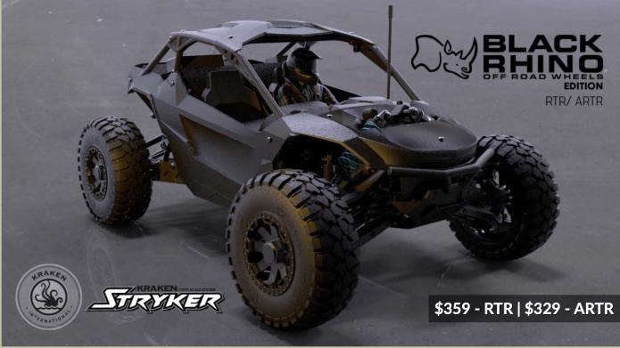 Kraken Stryker RTR - Black Rhino Wheels Edition