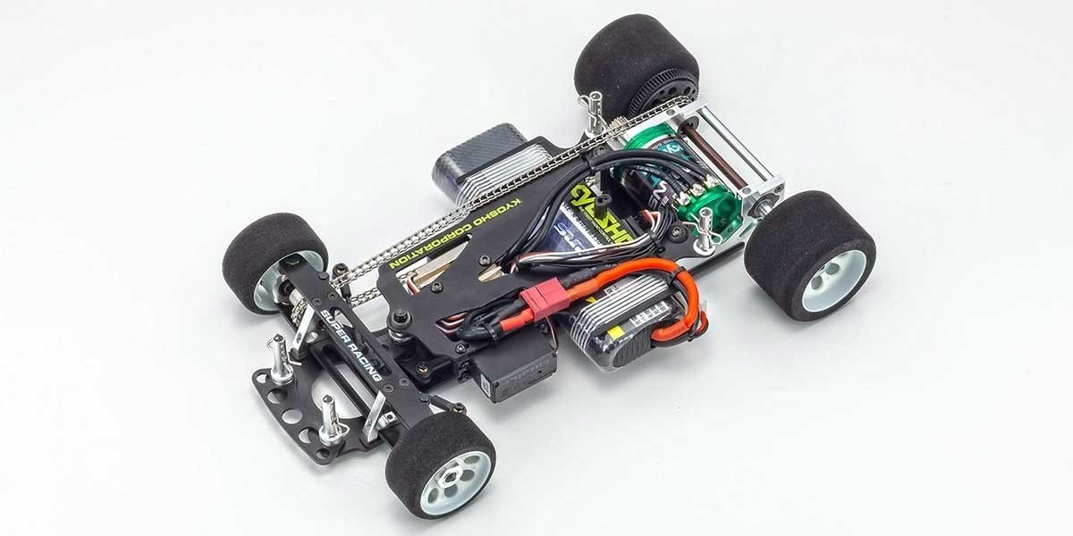 Kyosho Fantom EP 4WD - Chassis Top