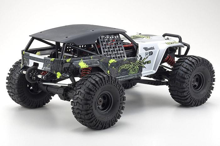 Kyosho Foxx 2 VE - Rear