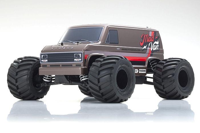 """Kyosho MK2 """"Mad Van"""" R/C Monster Van"""
