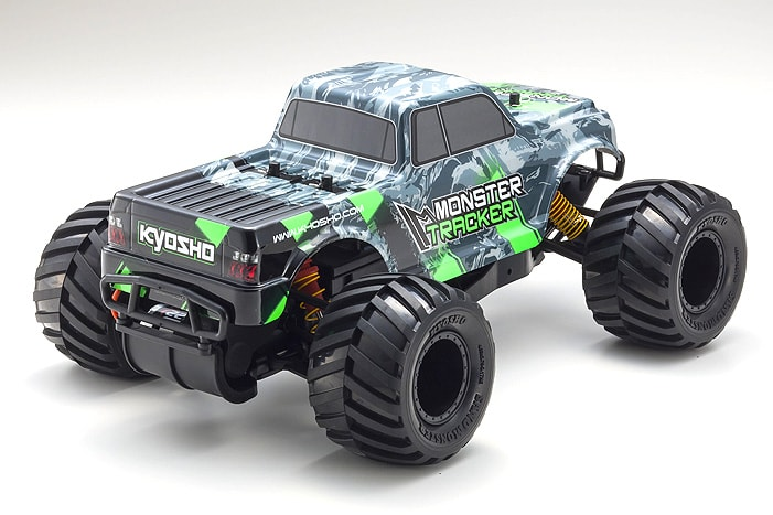 Kyosho Monster Tracker RC Monster Truck - Rear