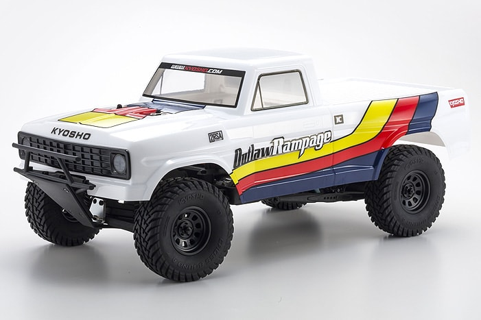 Kyosho Outlaw Rampage - White