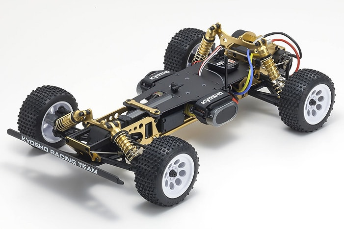 Kyosho Turbo Optima Gold Kit - Chassis