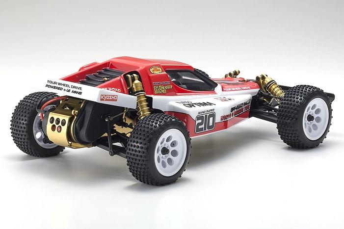 Kyosho Turbo Optima Gold Kit - Rear