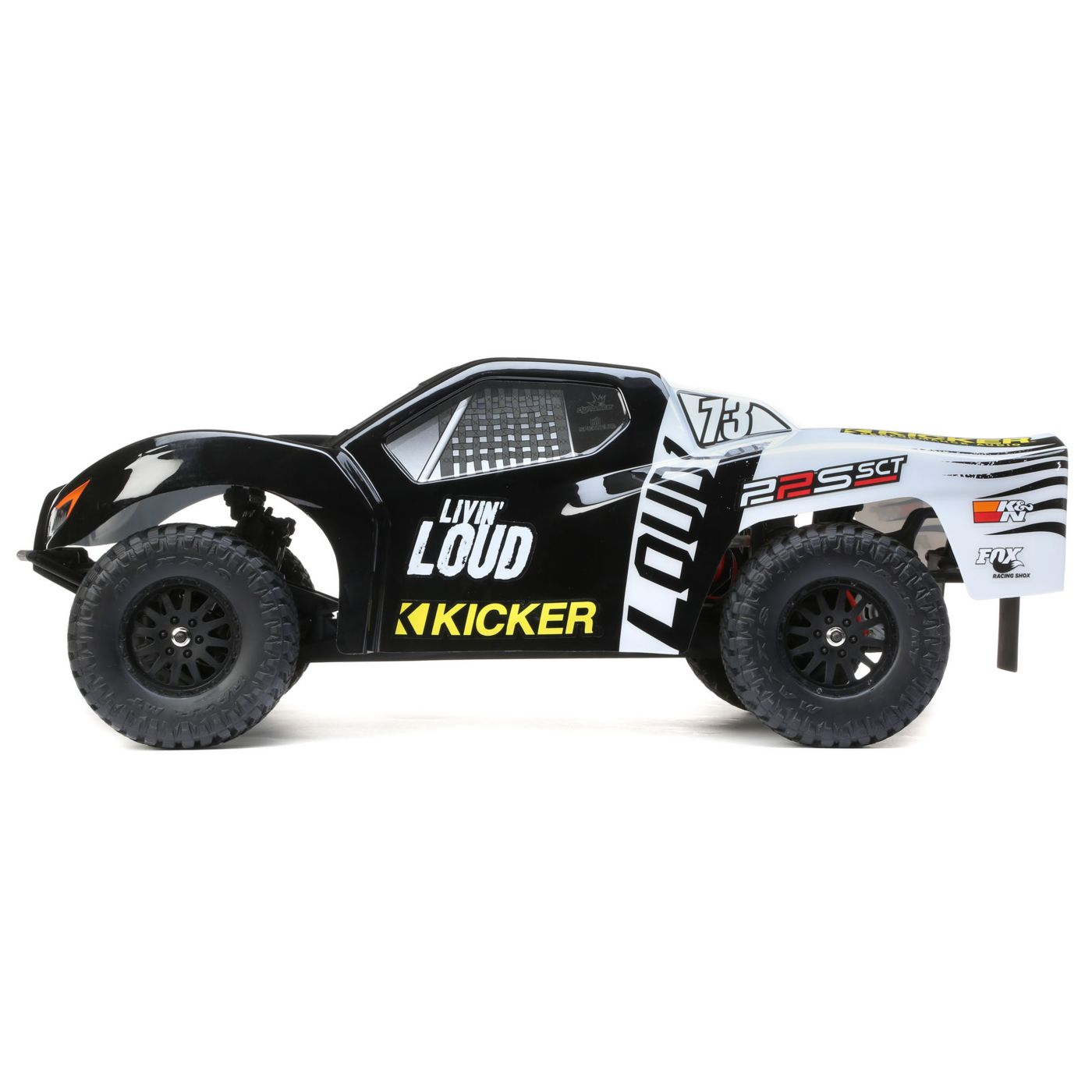 Losi 22S SCT 2WD Short Course Truck - Side