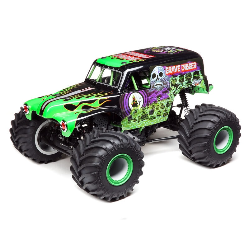 Losi's Latest Monster Creation: The LMT Solid Axle RTR Monster Truck