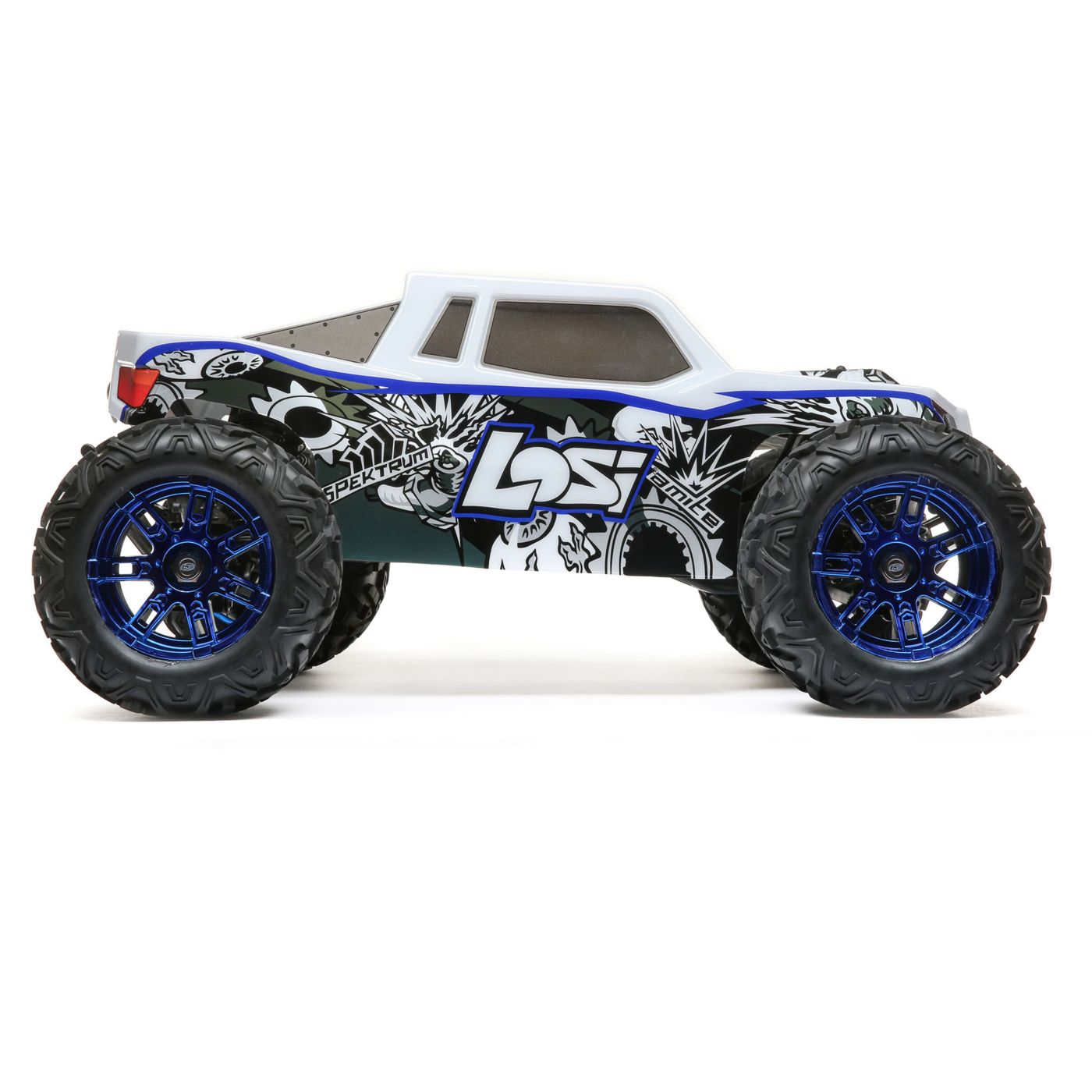 Losi LST 3XL E RC Monster Truck Side
