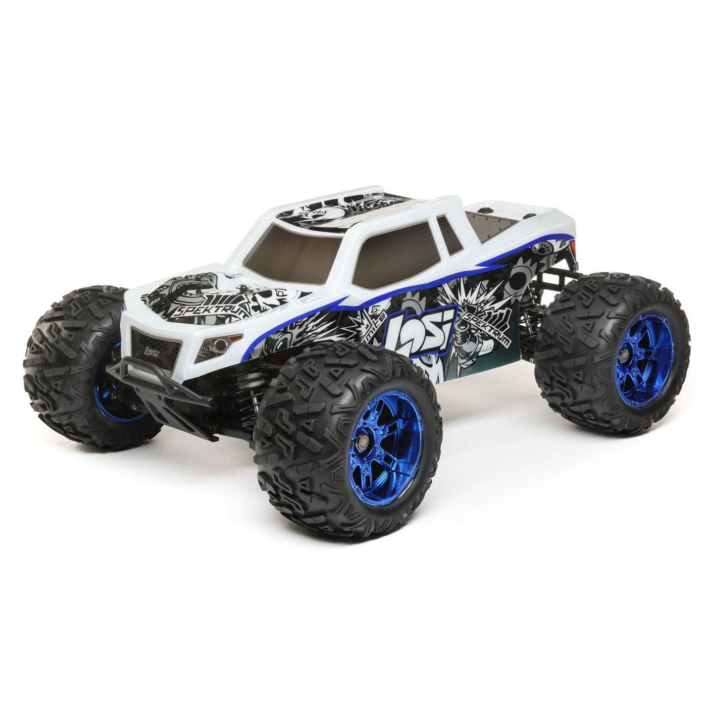 Losi Lets Loose their Latest Creation The LST 3XL E 1 8 Monster Truck