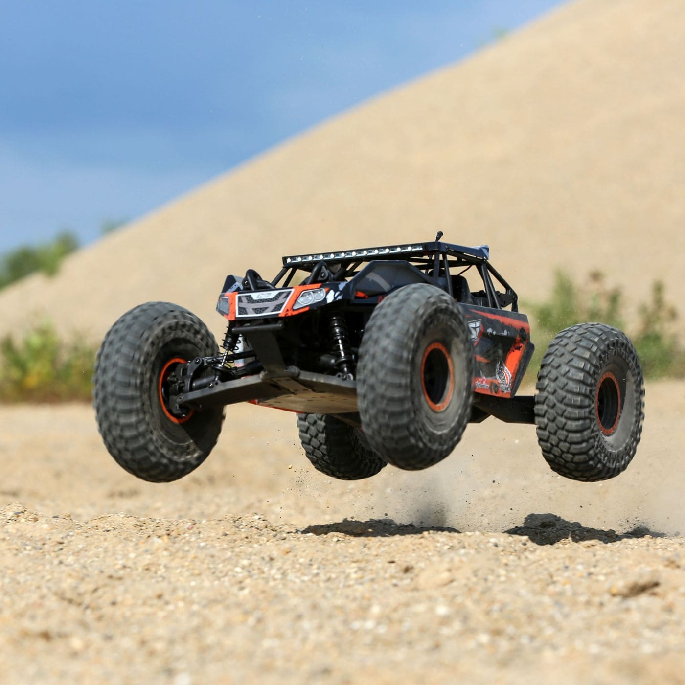 See it in Action: Losi's Rock Rey BND Rock Racer