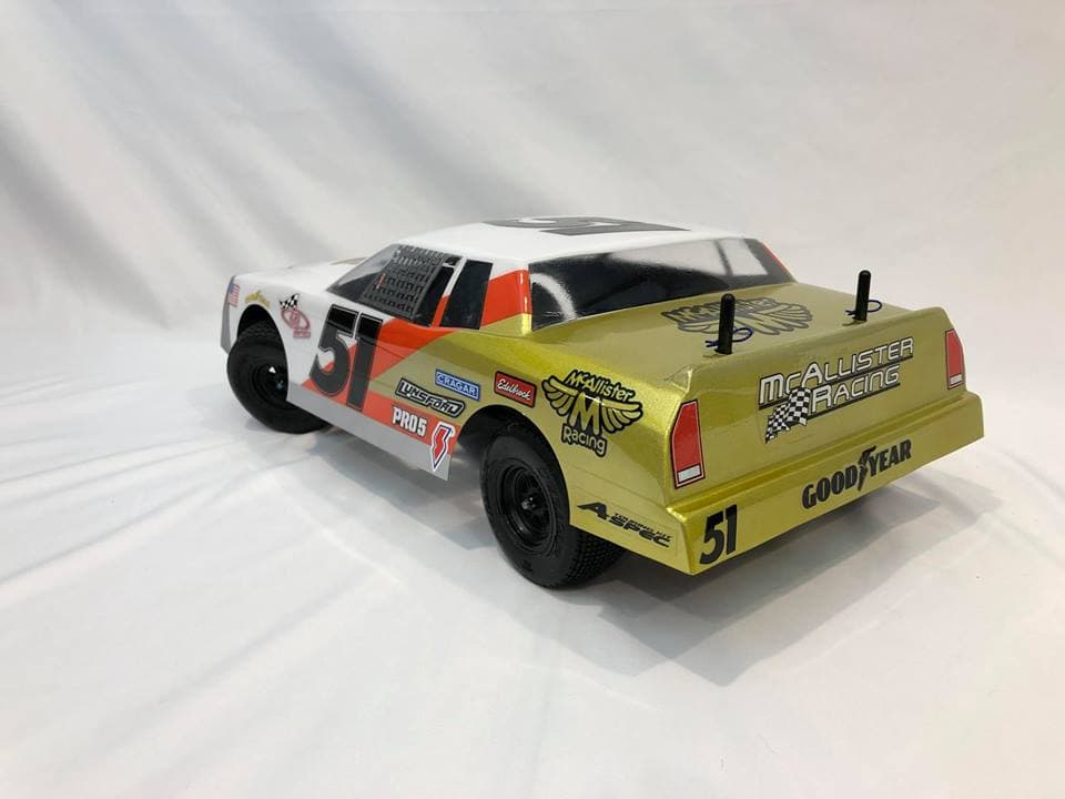 McAllister Racing Fat Boy Street Stock Body - Rear