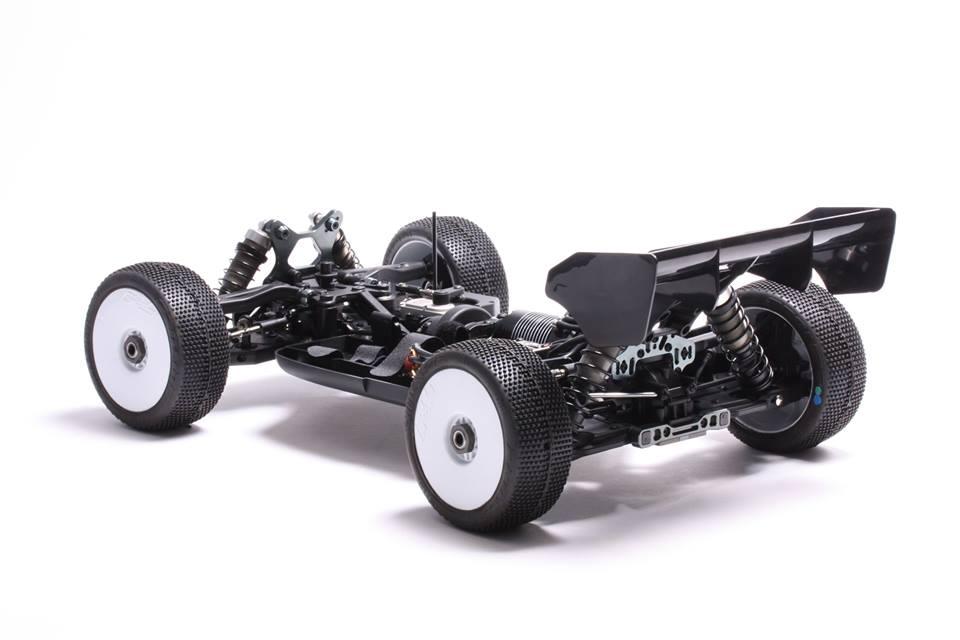 Mugen Seiki MBX8 Eco - Rear