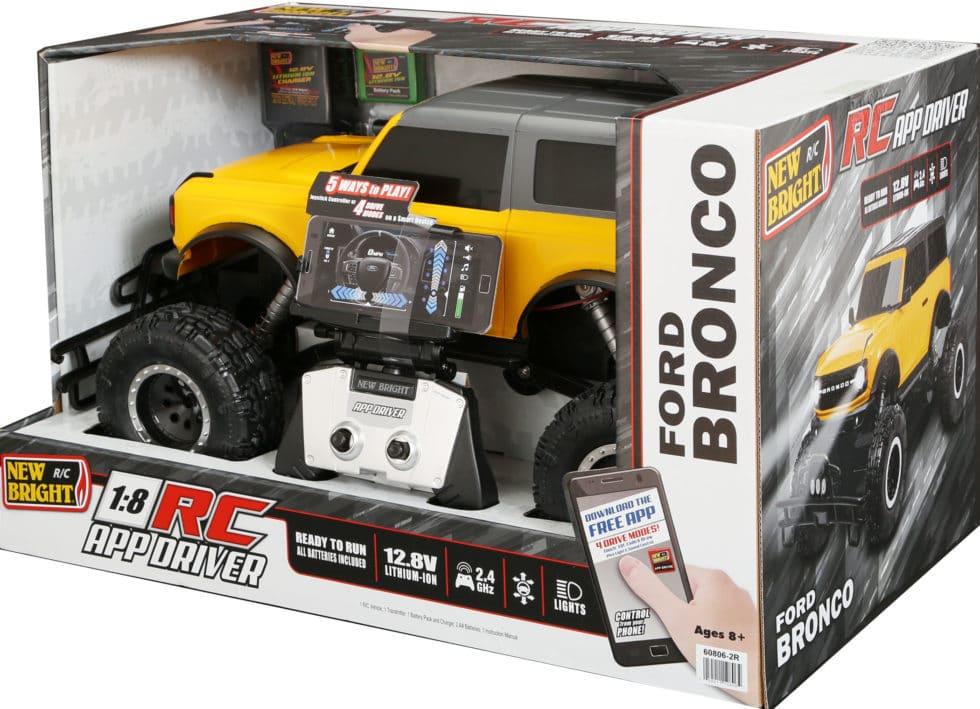 New Bright 2021 Ford Bronco - Box