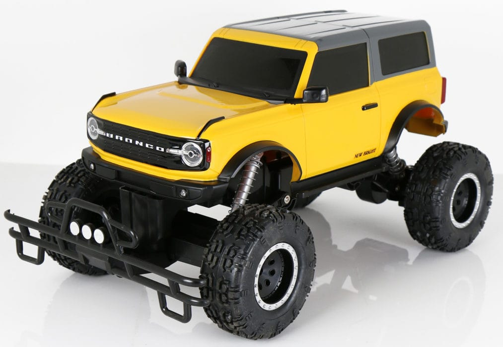 Hit the Trail with New Bright's 1/8 R/C App Driver 2021 Ford Bronco