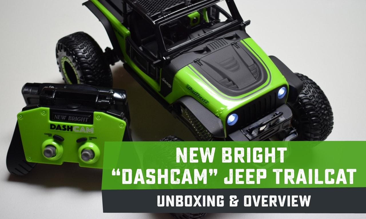 "First Impressions: New Bright's ""DashCam"" Jeep Trailcat R/C Crawler"