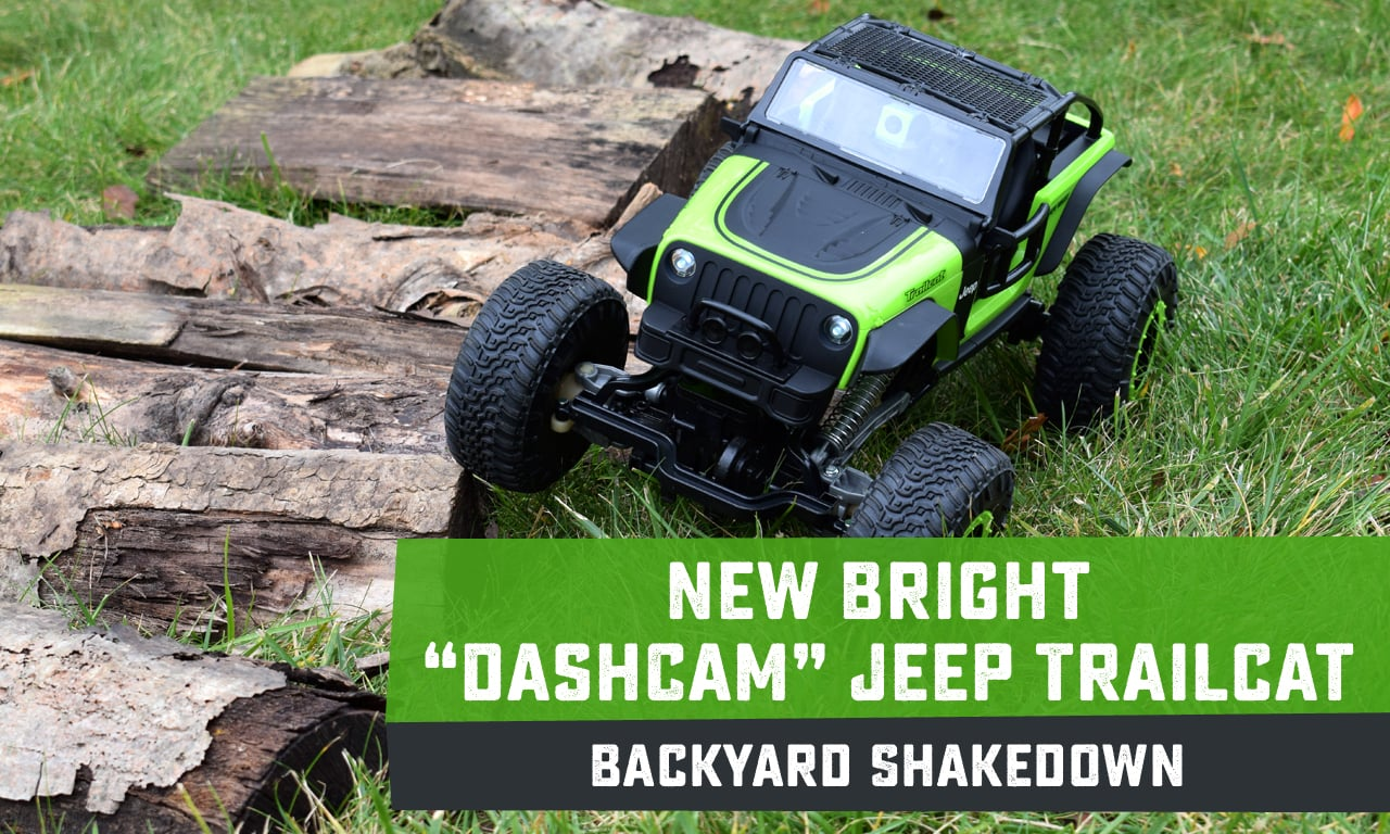 See it in Action: The New Bright R/C DashCam Jeep TrailCat
