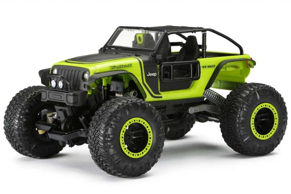 A Toy for the Trail: New Bright's DashCam 1/14 Jeep ...