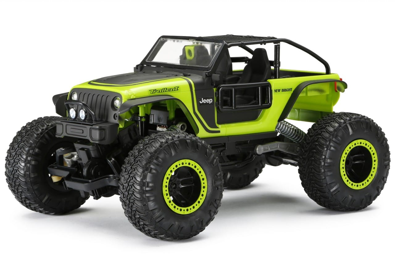 A Toy for the Trail: New Bright's DashCam 1/14 Jeep Trailcat