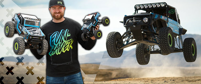 New Bright Vaughn Gitten Jr Brocky Rock Crawler