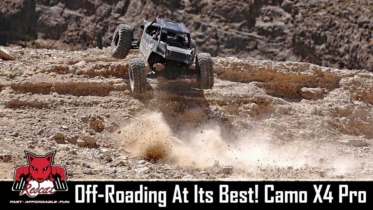 Tackling Treacherous Terrain with Redcat Racing's Camo X4 Pro [Video]