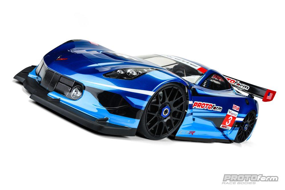 PROTOform's Chevrolet Corvette C7.R (GT1) Body for Short-wheelbase 1/8 Cars