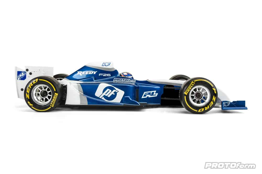 PROTOForm F26 Formula One Body - Side