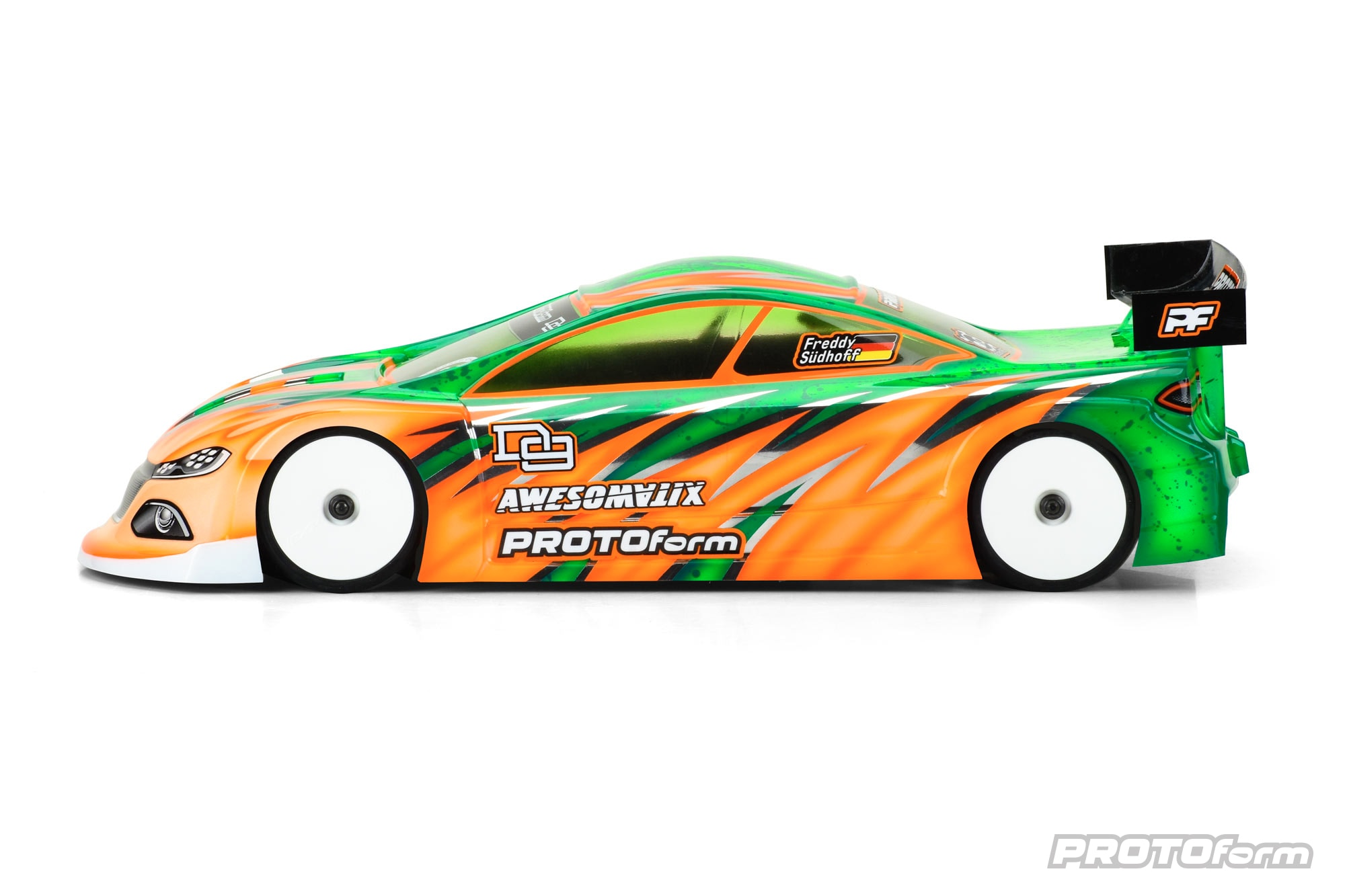PROTOform D9 190mm Touring Car Body - Side