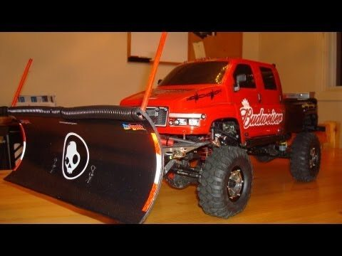 Let it snow with these scale, DIY snowplow mods.