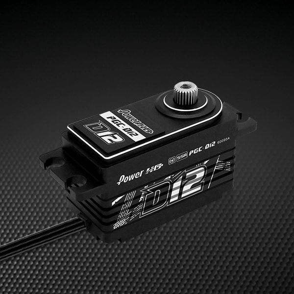 Slim Yet Strong – Power HD Introduces its D12 Low-profile Servo