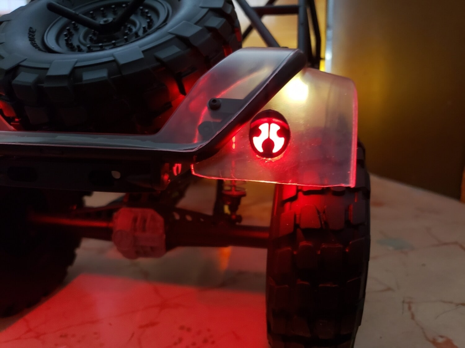 Powershift RC Axial UMG10 OEM Taillight Buckets