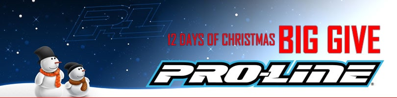 """A Giveaway With Heart: Pro-Line's """"12 Days of Christmas – Big Give 2017"""""""