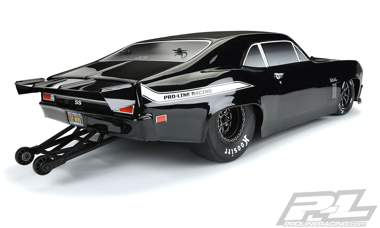 Pro-Line 1969 Chevy Nova Tough Color Dragster Body - Rear