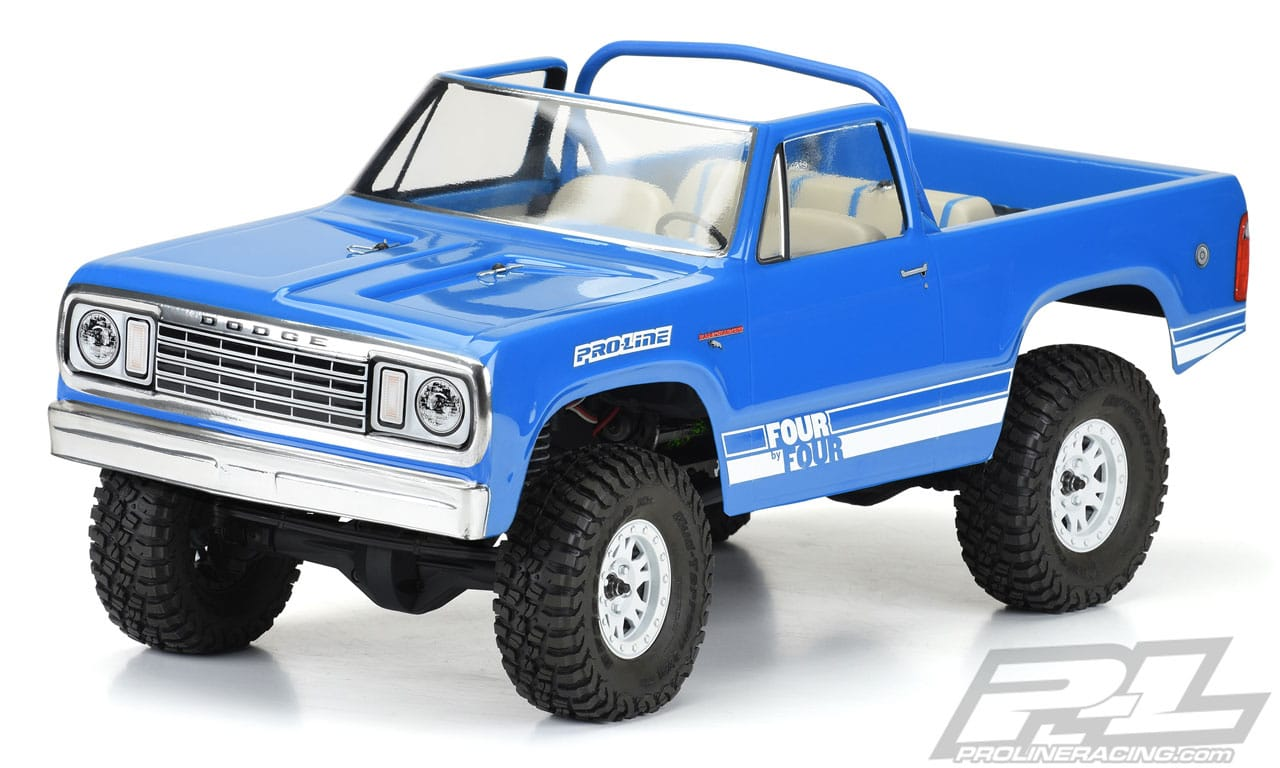 Pro-Line's 1977 Dodge Ramcharger R/C Crawler Body