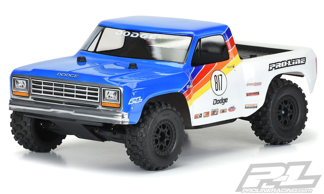 Race back to the '80s with Pro-Line's 1984 Dodge Ram 1500 SCT Body