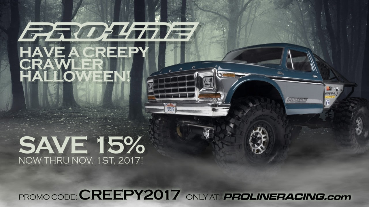 Save 15% During Pro-Line's Halloween Sale