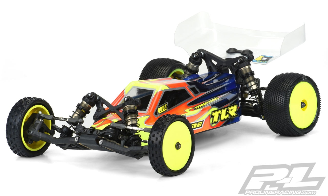 Pro-Line Axis Light Weight Clear Body for the TLR 22 5.0 Competition Buggy