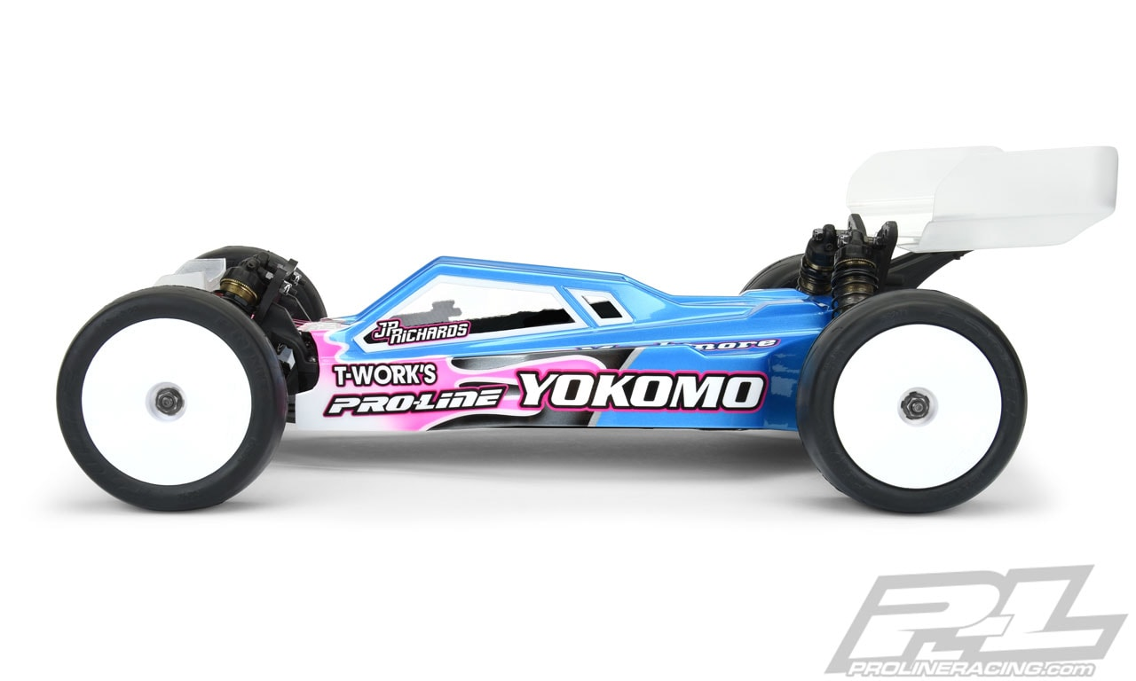 Pro-Line Axis Light Weight Clear Body Yokomo YZ-2 - Side