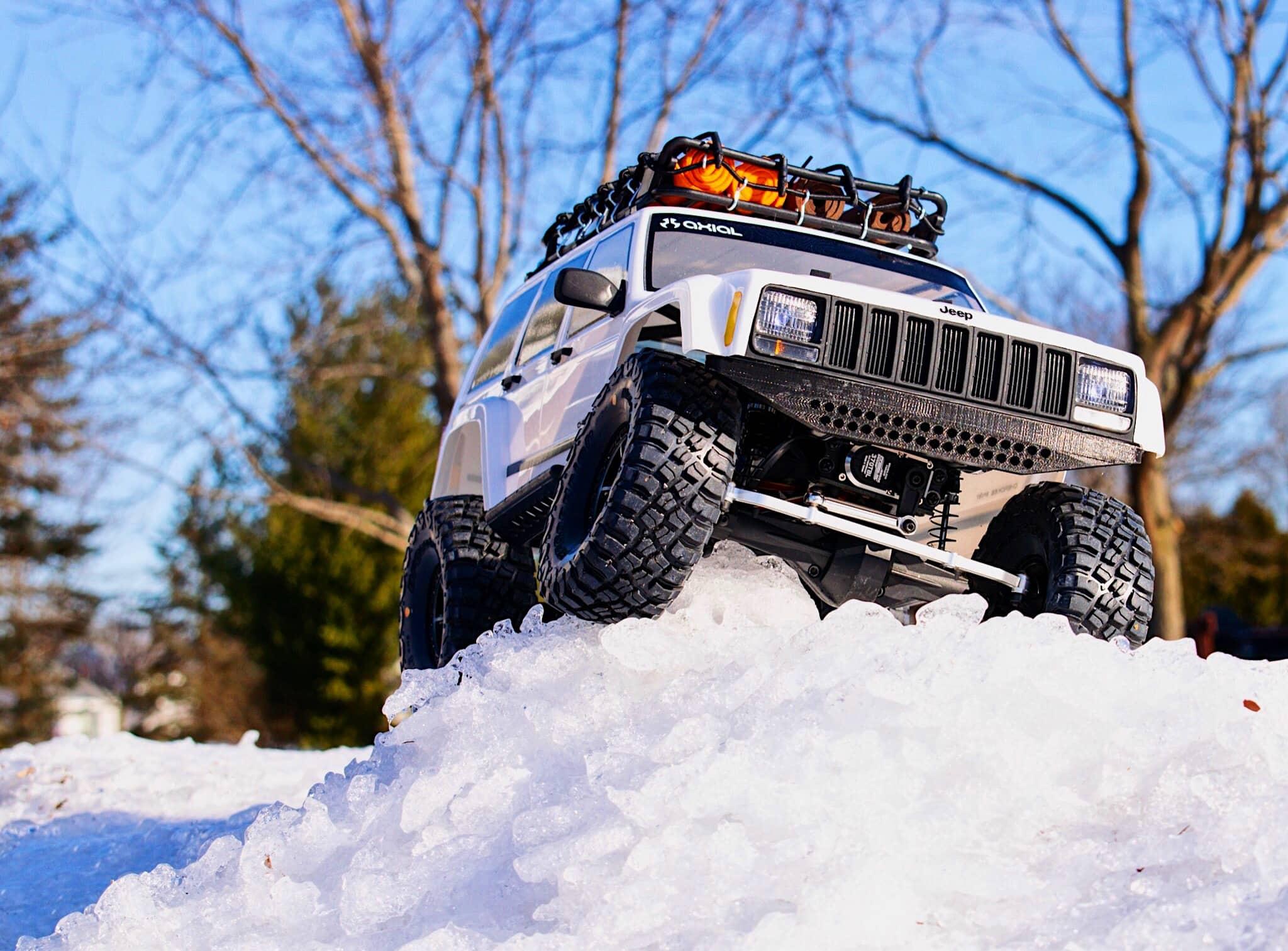 Pro-Line BFGoodrich KM3 Tires in Snow