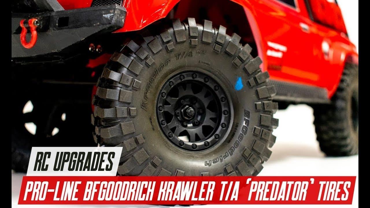 "Tire Talk: An Overview of Pro-Line's ""Predator"" BFGoodrich Krawler T/A Tires [Video]"