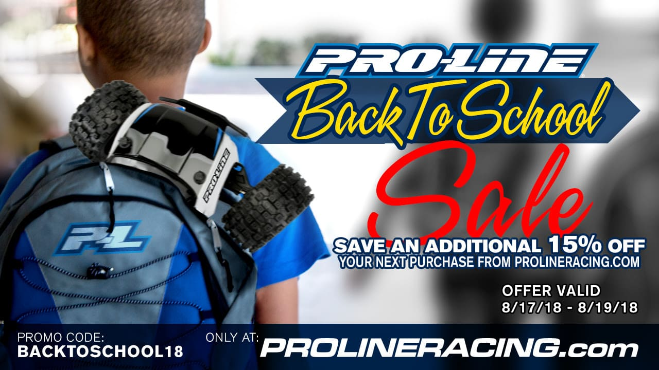 Ring in the School Year with Pro-Line's Back to School Sale