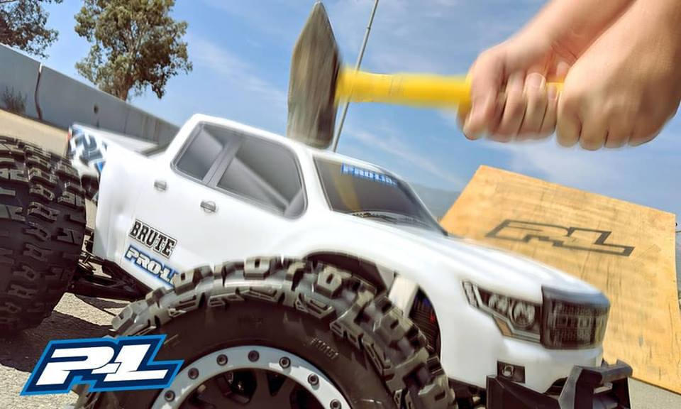 """Pro-Line Teases a New """"Brute"""" Body for the Traxxas X-Maxx"""
