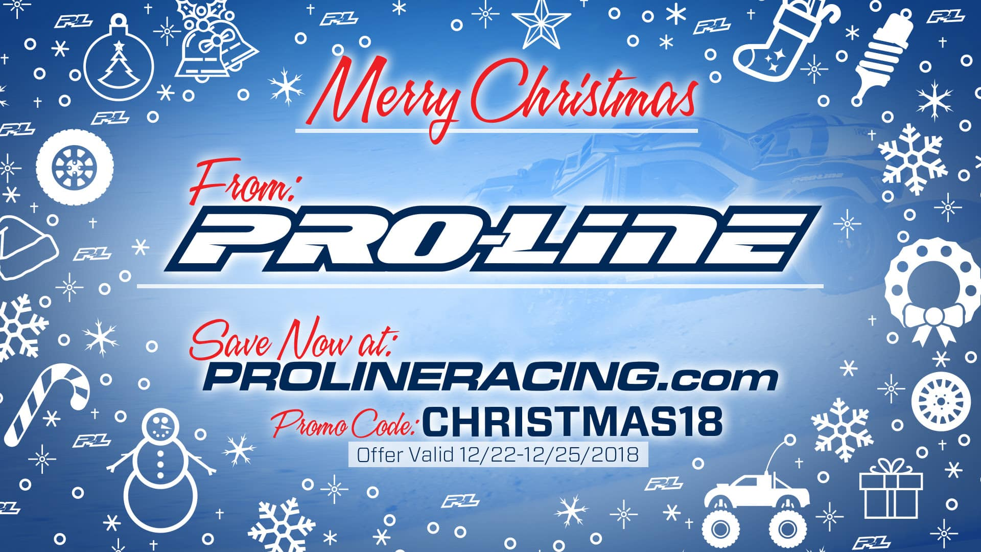 Score Last-minute Holiday Shopping Savings with Pro-Line