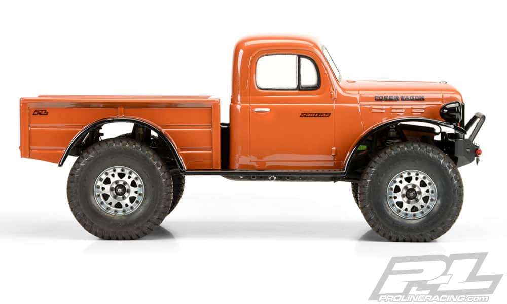 Pro-Line Dodge Power Wagon Scale RC Body - Side